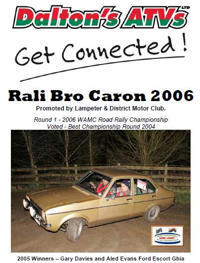 Dalton ATVs Get Connected Rali Bro Caron 2006