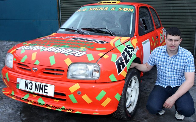 Grant Rees and Micra he can now use internationally
